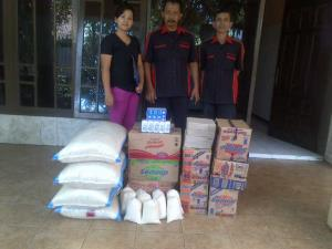 Donation from Mr. Paul Sastro, Commissioner of Jatim Park Group